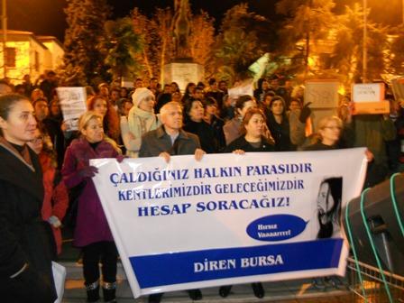 bursa protesto yeni