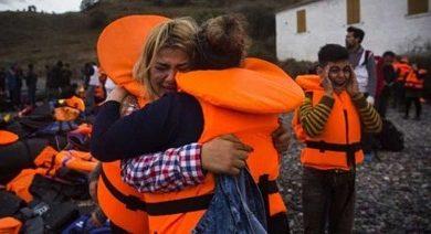 Egede 2 mülteci teknesi battı