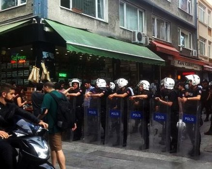 polis ablukası