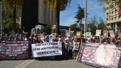 İHD İzmir 600. hafta selamlama