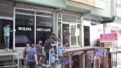 Colemêrgde DBP ve HDPye polis baskını