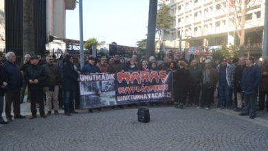 İzmir Aleviler Maraş katliamı eylemi