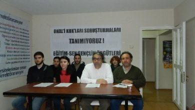 İzmir gennçlik örgütleri basın toplantısı