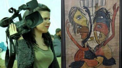Gazeteci Zehra Doğandan resim sergisi