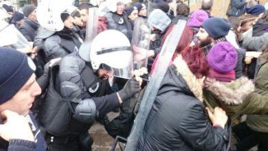 KOÜde polis saldırısı