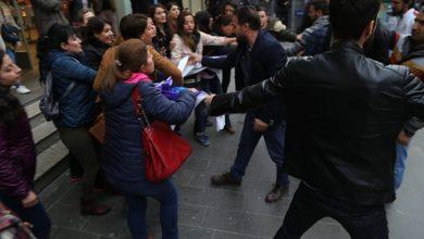 amed kadınlara saldırı