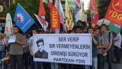 Antalyada 18 Mayıs anmasına dava