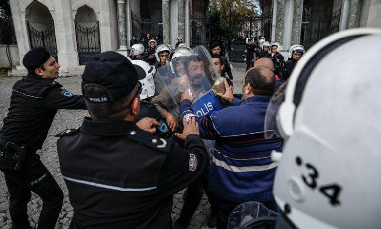 istanbul üniversitesinde saldiri