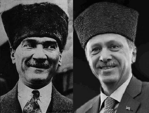 Hatay Kıbrıs Efrîn Mustafa Kemalin ruhu Erdoğanda