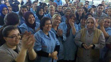 PRETTLDE KAZANIM Direnen kadın işçiler kazandı