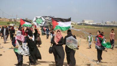 gazeede büyük geri dönüş yürüyüşü